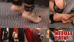 Tack Carpet – Queensnake, Greta, thumbtack, humiliation, lezdom