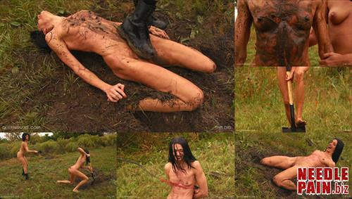 0106 QS The Dig m - The Dig - Queensnake, Tanita, whipping, humiliation, dirty, messy