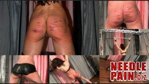 Latex Night Painting Whipping – Queensnake, flogging, caning