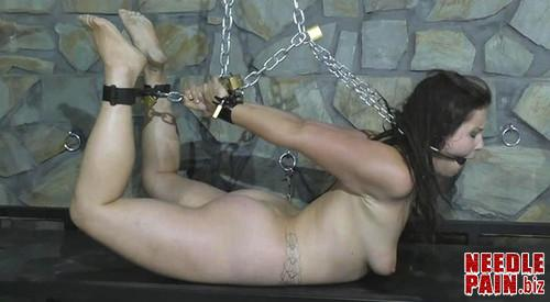 5d12c7a23e627 Uncomfortable Steel Cuffs Hogtie for Afsana Kink hc 003 m - Uncomfortable Steel Cuffs Hogtie for Afsana Kink - Heavy Chains