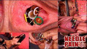 Vagina Tacks – Queensnake, pee, thumbtack, piercing, hammer