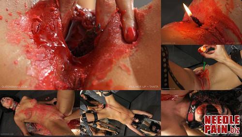 0127 QS Fill Her Up   Tanita m - Fill Her Up - Tanita - Queensnake, hot wax, candles, speculum