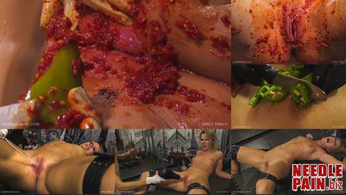 0204 QS Spicy Tracy m - Spicy Tracy - Queensnake, Tracy, lezdom, bondage, pepper