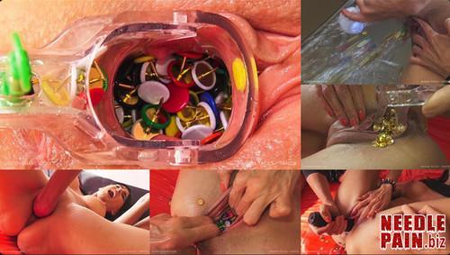 0207 QS Vagina Tacks Tanita m - Vagina Tacks Tanita - Queensnake, stuffing, thumbtack, fisting, lezdom