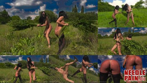 0224 QS Gladiatrix m - Gladiatrix - Queensnake, Diamond, nettle, flogging, whipping, lezdom