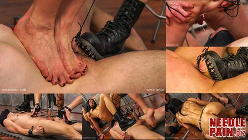 0235 QSt Spike Girls m - Spike Girls - Queensect, femdom, Queensnake, Nazryana, trampling