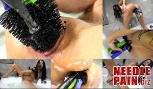 Chassis Wash – Queensnake, brush, stuffing, dildo, self fisting