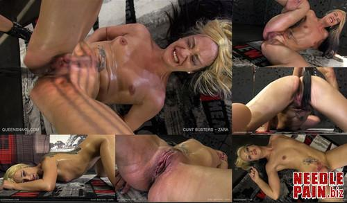 0316 QS Cunt Busters   Zara m - Cunt Busters - Zara - Queensnake, Holly, lezdom, pussy whipping