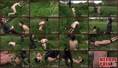 0320 QS Nettle Puppy.t m - Nettle Puppy - Queensnake, Jeby, nettle, outdoor, lezdom