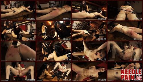 0345 QS The Bench   Jeby.t m - The Bench - Jeby - Queensnake, spanking bench, riding crop
