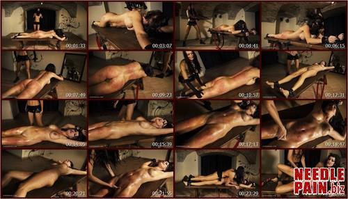 0351 QS The Bench   Tanita.t m - The Bench - Tanita - Queensnake, spanking, spanking, riding crop