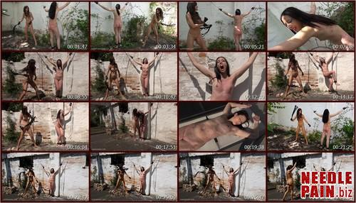 0387 QS Beating Jeby.t m - Beating Jeby - Jeby, Tanita, whipping, welts, bruises, lezdom