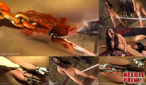 0398 QS Long March m - Long March - Queensnake, Tanita, chili, candles, electro, whipping