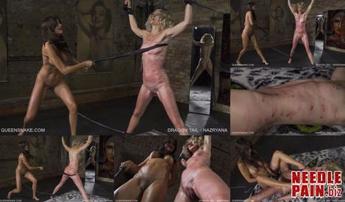 0434 QS Dragon Tail   Nazryana m - Dragon Tail - Nazryana - Tanita, whipping, squirt, lezdom, 4K UHD