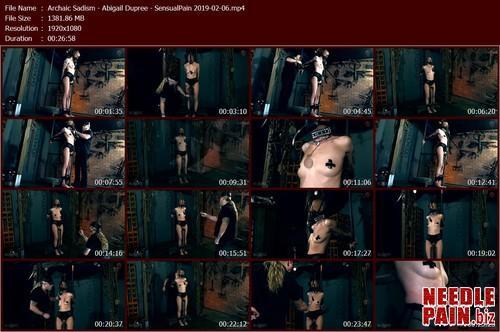 Archaic Sadism   Abigail Dupree   SensualPain 2019 02 06.t m - Archaic Sadism - Abigail Dupree - SensualPain 2019-02-06