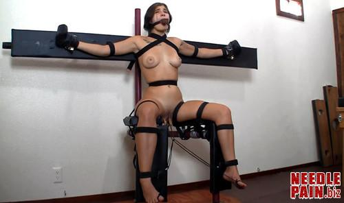 Cassandra Training Chair m - Training Chair - Cassandra Crimson - Bondagelife