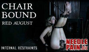 Chair Bound – Red August – InfernalRestraints 2019-03-15