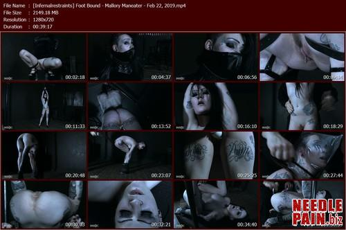 Foot Bound   Mallory Maneater   Feb 22  2019 Infernalrestraints.t m - Foot Bound - Mallory Maneater - Feb 22, 2019 Infernalrestraints