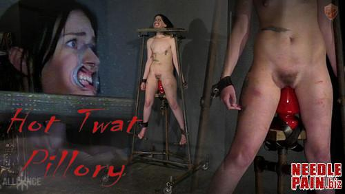 Hot Twat Pillory   Abigail Annalee   SensualPain 2018 11 18 m - Hot Twat Pillory - Abigail Annalee - SensualPain 2018-11-18