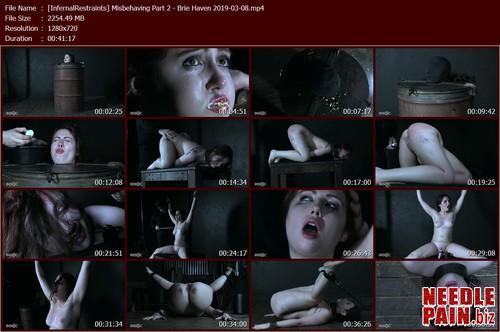 Misbehaving Part 2   Brie Haven   InfernalRestraints 2019 03 08.t m - Misbehaving Part 2 - Brie Haven - InfernalRestraints 2019-03-08
