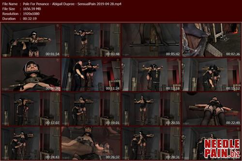 Pole For Penance   Abigail Dupree   SensualPain 2019 04 28.t m - Pole For Penance - Abigail Dupree - SensualPain 2019-04-28