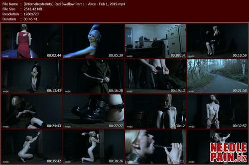 Red Swallow Part 1   Alice   Feb 1  2019 Infernalrestraints.t m - Red Swallow Part 1 - Alice - Feb 1, 2019 Infernalrestraints