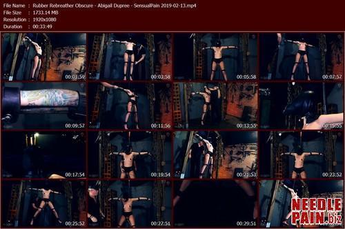 Rubber Rebreather Obscure   Abigail Dupree   SensualPain 2019 02 13.t m - Rubber Rebreather Obscure - Abigail Dupree - SensualPain
