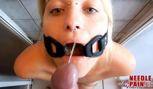 Throat Gag Piss m - Throat Gag Piss - PervyPixie - Zhpervypixie, piss in mouth