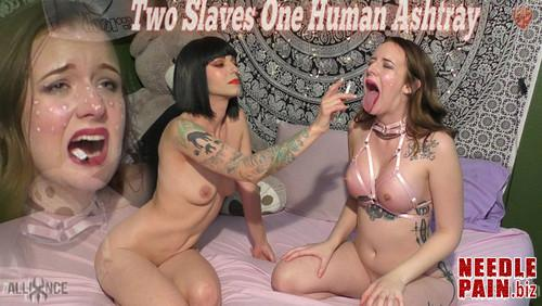 Two Slaves One Human Ashtray   Jessica Kay   SensualPain 2018.10.31 m - Two Slaves One Human Ashtray - SensualPain 2018.10.31