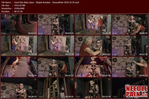 Used Pain Baby slave   Abigail Annalee   SensualPain 2018.10.24.t m - Used Pain Baby slave - Abigail Annalee - SensualPain 2018.10.24