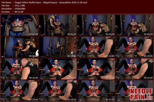 Veggie Orifice Stuffed slave   Abigail Dupree   SensualPain 2018 11 28.t m - Veggie Orifice Stuffed slave - Abigail Dupree - SensualPain