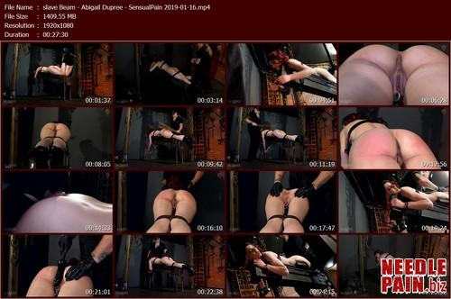 slave Beam   Abigail Dupree   SensualPain 2019 01 16.t m - slave Beam - Abigail Dupree - SensualPain 2019-01-16