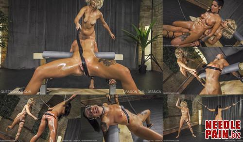 0454 QS Dragon Tail   Jessica m - Dragon Tail - Jessica - Nazryana, whipping, spanking, welts, bruises