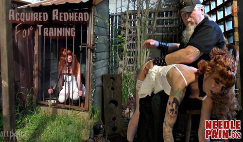 Acquired Redhead For Training   Abigail Dupree   SensualPain 2019 05 05 m - Acquired Redhead For Training - Abigail Dupree - SensualPain