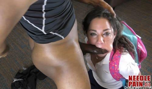 Amara Romani   Bad Little Girl Learns A Valuable Lesson About BBC BLACK ASS m - Bad Little Girl Learns A Valuable Lesson About BBC & BLACK ASS!