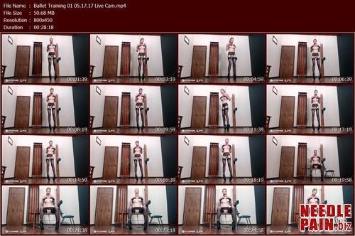 Ballet Training 01 05.17.17 Live Cam.t m - Ballet Training 01 05.17.17 Live Cam - Rachel Greyhound