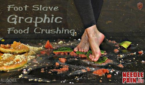 Foot Slave Graphic Food Crushing   Abigail Dupree   SensualPain 2019 05 22 m - Foot Slave Graphic Food Crushing - Abigail Dupree - SensualPain