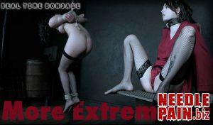 More Extreme Part 2 – Alex More – RealTimeBondage 2019-04-06