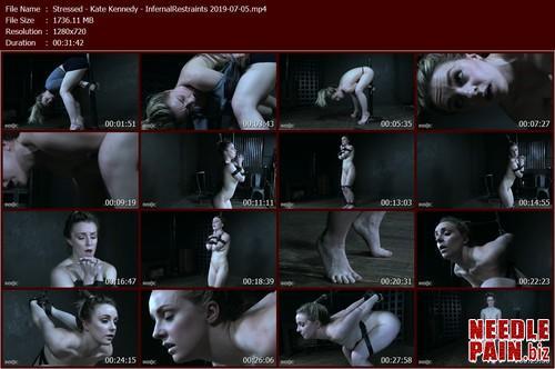 Stressed   Kate Kennedy   InfernalRestraints 2019 07 05.t m - Stressed - Kate Kennedy - InfernalRestraints 2019-07-05