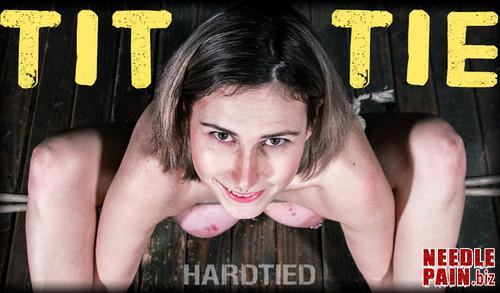 Tit Tie   Red August   HardTied 2019 04 10 m - Tit Tie - Red August - HardTied 2019-04-10, BDSM, torture