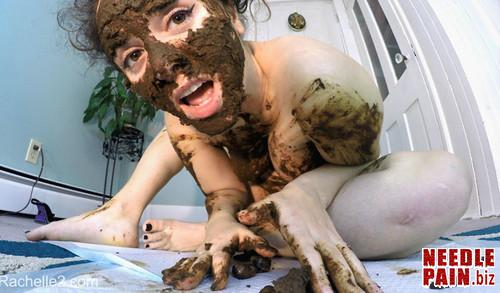 LoveRachelle2   Stinky SHIT Mask. Eating  Smearing Cumming m - Stinky Shit Mask! Eating, Smearing & Cumming! - LoveRachelle2