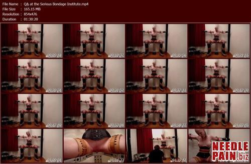QA at the Serious Bondage Institute.t m - Q&A at the Serious Bondage Institute 10.23.17 - Bondagelife