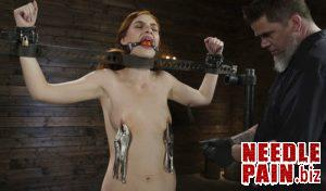 Red Head Slut Gets Destroyed in Diabolical Bondage Maya Kendrick