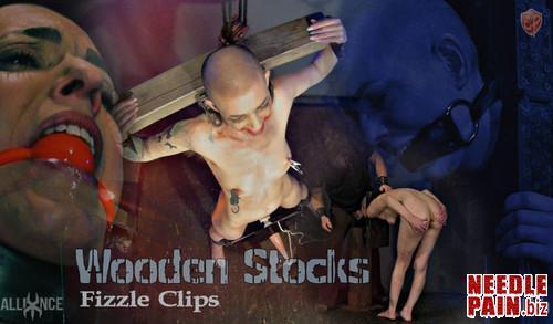 Wooden Stocks Fizzle clips   Abigail Dupree   SensualPain 07.14.19 m - Wooden Stocks Fizzle clips - Abigail Dupree - SensualPain