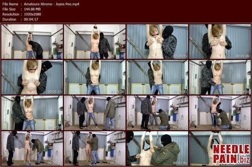 Amateure Xtreme   Jeans Pee.t m - Jeans Pee - Cindy - Amateure-Xtreme, peeing, humiliation