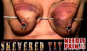 BrutalMaster – Slave Twisted – Skewered Titmeat needles, torture