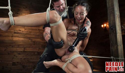 Alexis Taes First Time Being tormented in Grueling Bondage   Hogtied 08.01.19 m - Alexis Tae's First Time Being tormented in Grueling Bondage