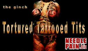 BrutalMaster – The Ginch – Tortured Tattooed Tits, bdsm