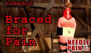 BrutalMaster – Tinkerslut – Braced For Pain, bondage, whipping