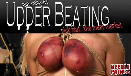 BrutalMaster   Udder Beating m - BrutalMaster - Udder Beating - tit torture, cruel bdsm, caning